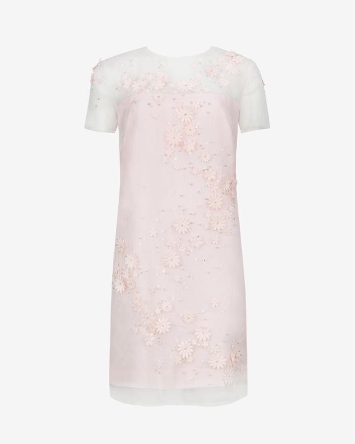 Ted Baker Embellished Floral Tunic Dress