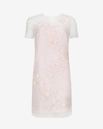 Ted Baker Embellished Floral Tunic Dress