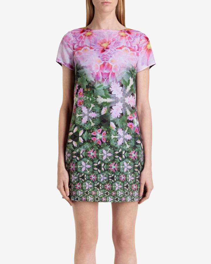 Ted Baker Geometric Floral Tunic Dress
