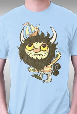 Teefury Ode To The Wild Things By Wotto