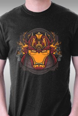 Teefury Iron Samurai By Studiom6