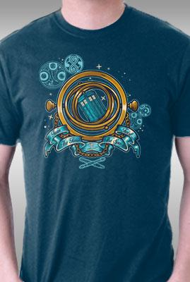 Teefury Turn The Time, Twist The Space By Letter Q