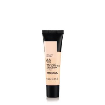 The Body Shop Matte Clay Skin Clarifying Foundation