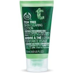 The Body Shop Tea Tree Oil Skin Clearing Lotion