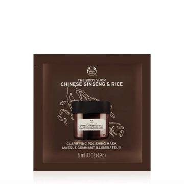 The Body Shop Chinese Ginseng & Rice Clarifying Polishing Mask Packette