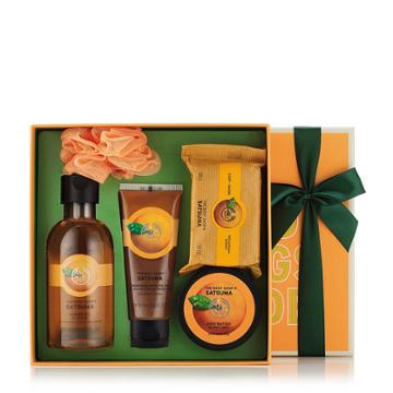 The Body Shop Satsuma Bath & Body Small Gift
