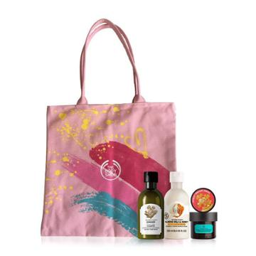 The Body Shop Mother's Day Filled Tote Bag