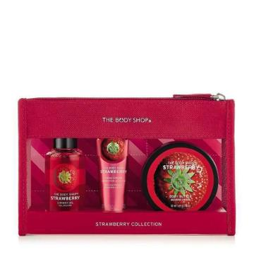 The Body Shop Strawberry Beauty Bag