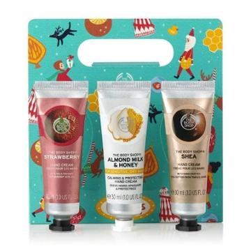 The Body Shop Handfuls Of Happiness Hand Cream Trio