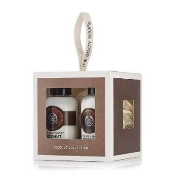 The Body Shop Coconut Bath & Body Gift Cube