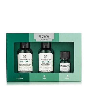 The Body Shop Tea Tree Oil 123 Kit