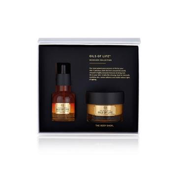 The Body Shop Oils Of Life Skincare Collection