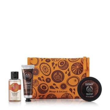 The Body Shop Creamy & Sweet Tropical Delights Bag