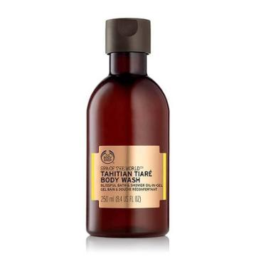 The Body Shop Spa Of The World Tahitian Tiar Bath & Shower Oil-in-gel