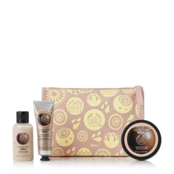 The Body Shop Nutty & Nourishing Shea Delights Bag