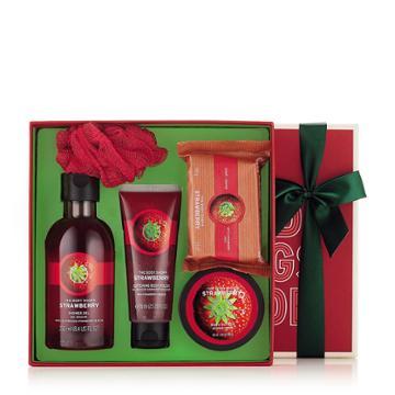 The Body Shop Strawberry Bath & Body Small Gift