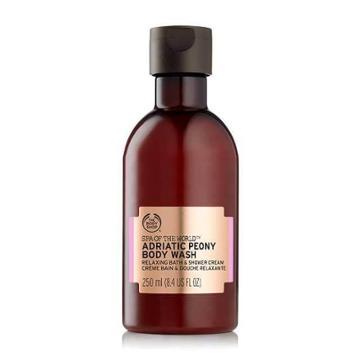 The Body Shop Spa Of The World Adriatic Peony Bath & Shower Cream