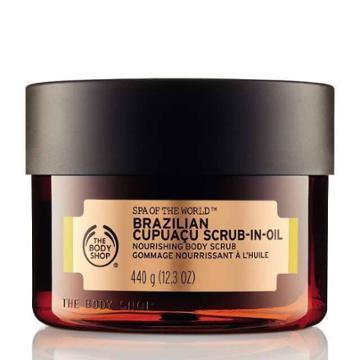 The Body Shop Spa Of The World Brazilian Cupuau Exfoliating Scrub-in-oil