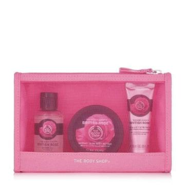 The Body Shop British Rose Delights Bag