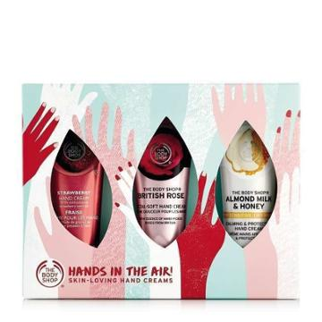 The Body Shop Hand Cream Trio