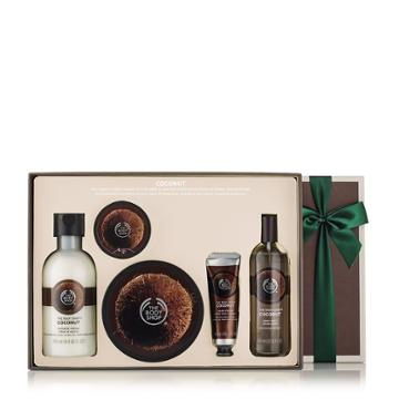The Body Shop Coconut Bath & Body Medium Gift