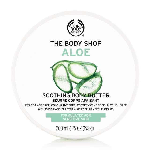 The Body Shop Aloe Soothing Body Butter