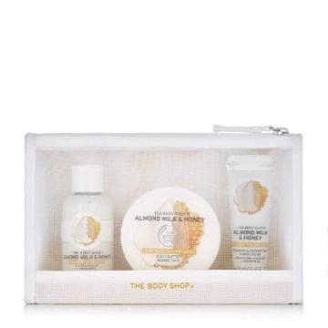 The Body Shop Almond Milk & Honey Delights Bag