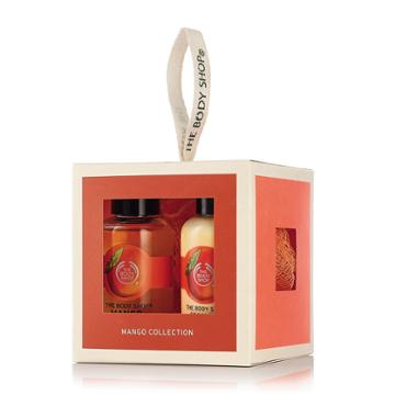 The Body Shop Mango Bath & Body Gift Cube