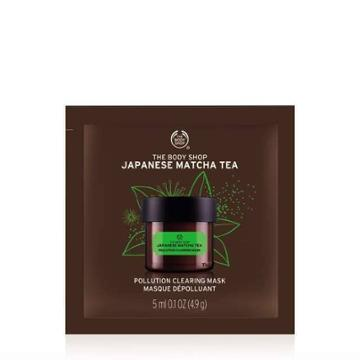 The Body Shop Japanese Matcha Tea Pollution Clearing Mask Packette