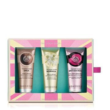 The Body Shop Hand Cream Trio Collection