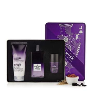 The Body Shop Kings And Gentlemen's White Musk® Fragrance Kit