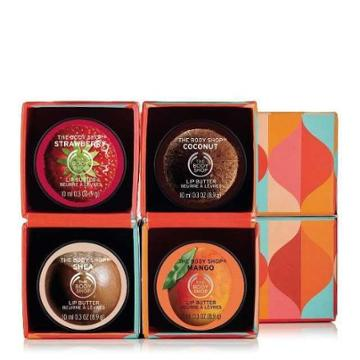 The Body Shop Lip Butter Kiss Me Cube