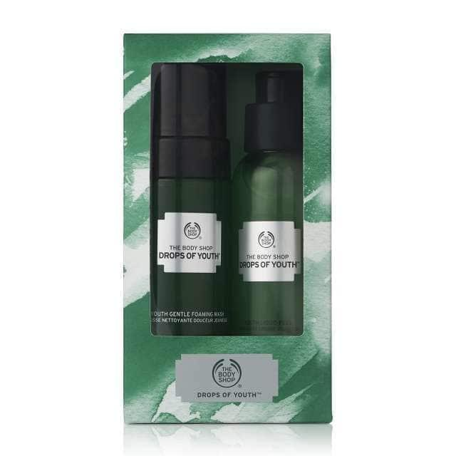 The Body Shop Drops Of Youth Cleansing Duo