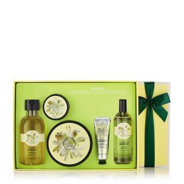 The Body Shop Moringa Bath & Body Medium Gift