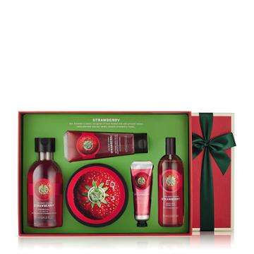 The Body Shop Strawberry Bath & Body Medium Gift