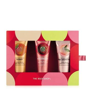 The Body Shop Handfuls Of Happiness Fruity Hand Cream Set