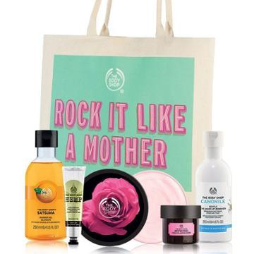 The Body Shop Mother's Day Tote Bag Set