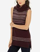 The Limited Sleeveless Cowl Neck Sweater