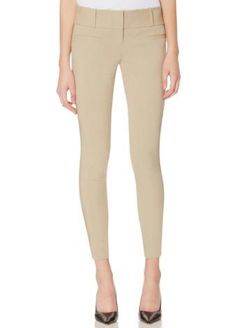 The Limited The Limited  Exact Stretch Zip Ankle Pants   Khaki 16?