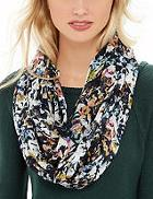 The Limited Colorful Printed Infinity Scarf