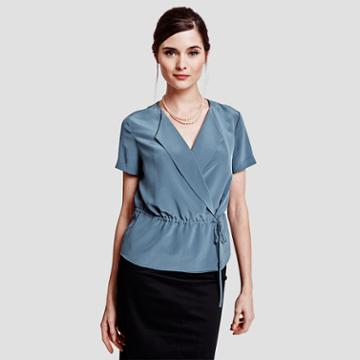 Thomas Pink Vanessa Shirt Seas Grey/plain