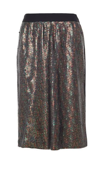 All Over Sequins Skirt