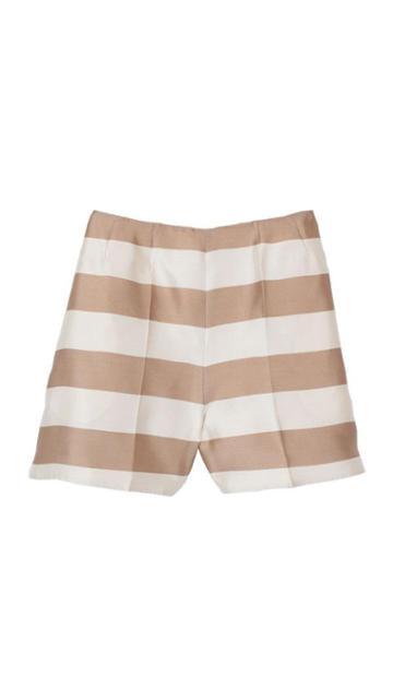 Escalante Striped Silk Shorts
