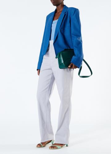 Lightweight Wool Jersey Cami Bodysuit