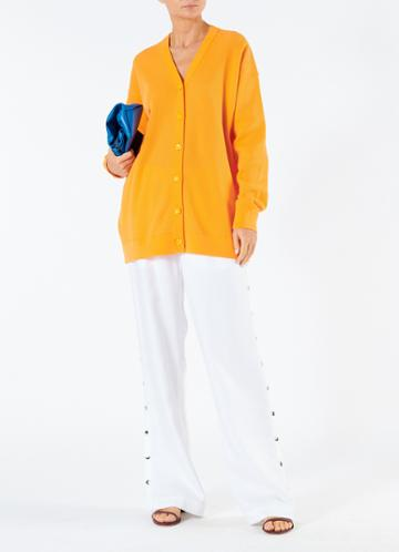 Spring Pull On Snap Pant