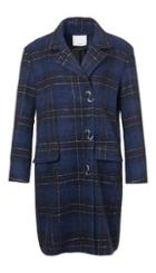 Dominic Plaid Oversized Coat