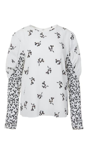 Lila Floral Florence Top