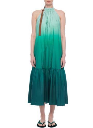 Dip Dye Halter Dress