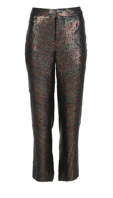 All Over Sequins Slouch Pants