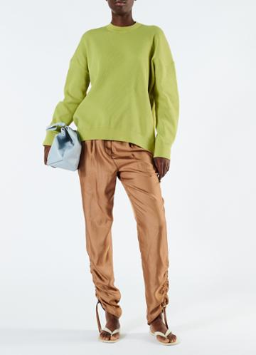 Spring Tech Poly Sculpted Sleeve Pullover